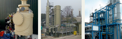 Industrial air pollution and odour control systems
